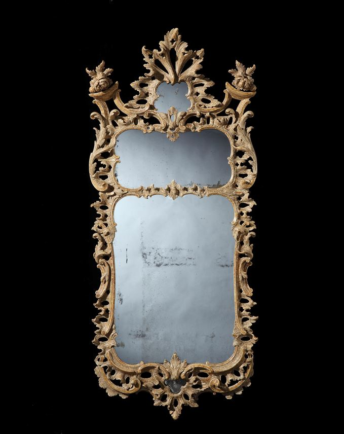 A fine George III giltwood mirror in the manner of Matthias Lock | MasterArt