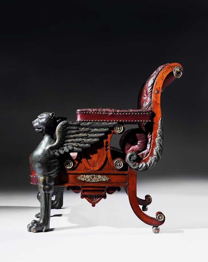 William Pocock - An Impressive Regency Period Reclining Armchair | MasterArt