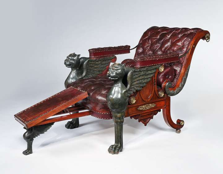 An Impressive Regency Period Reclining Armchair
