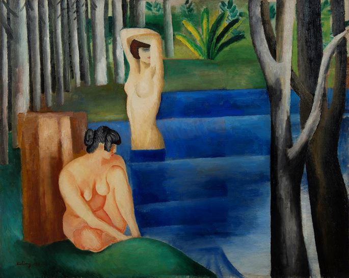 Moise Kisling - Les deux baigneuses | MasterArt