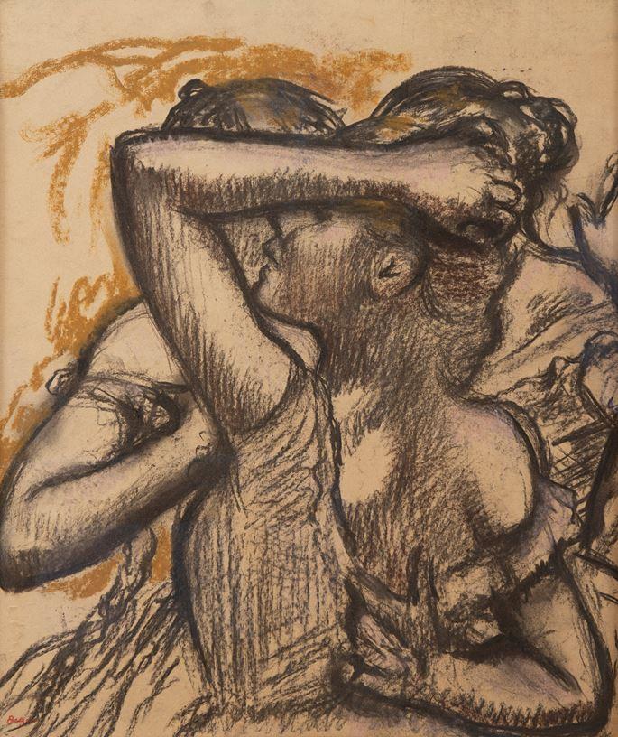 Edgar DEGAS - Trois danseuses en buste | MasterArt