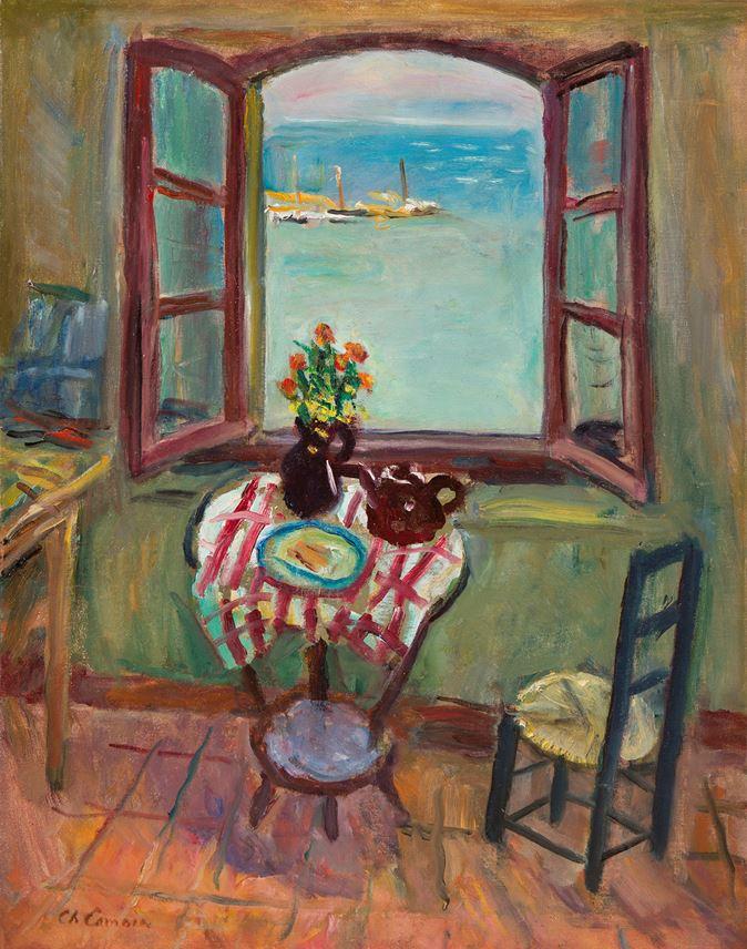 Charles Camoin - Fenêtre de l'atelier, Saint-Tropez | MasterArt