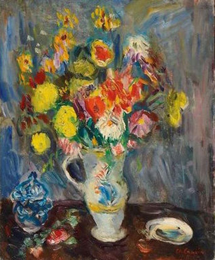 Charles Camoin - Nature morte au vase de fleurs | MasterArt