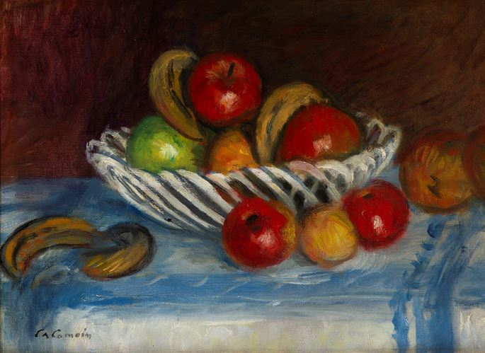 Charles Camoin - Corbeille de fruits | MasterArt