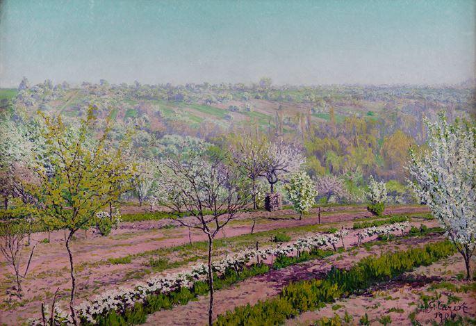 Gustave Cariot - Verger fleuri | MasterArt
