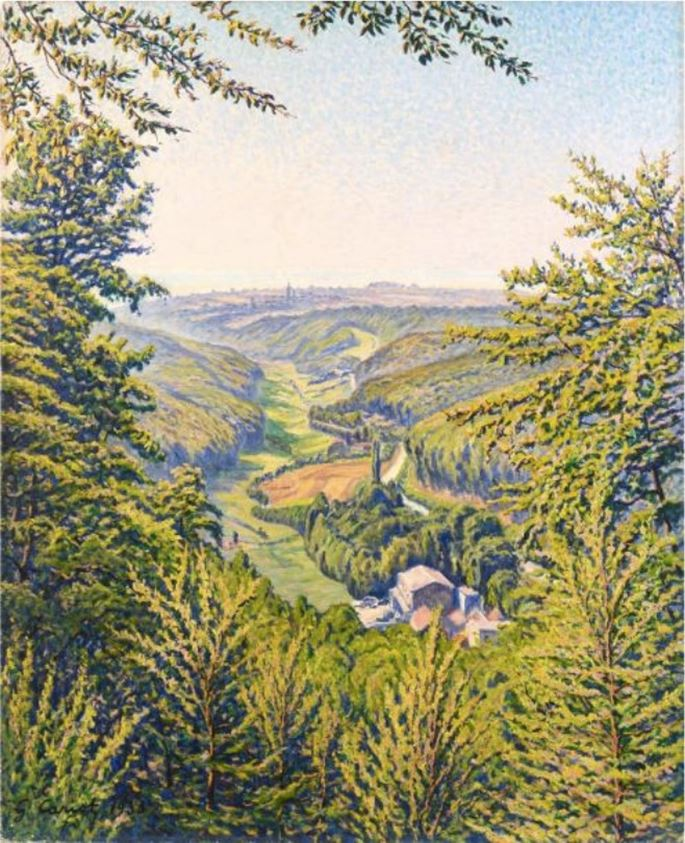 Gustave Cariot - Vallée en Rhénanie | MasterArt