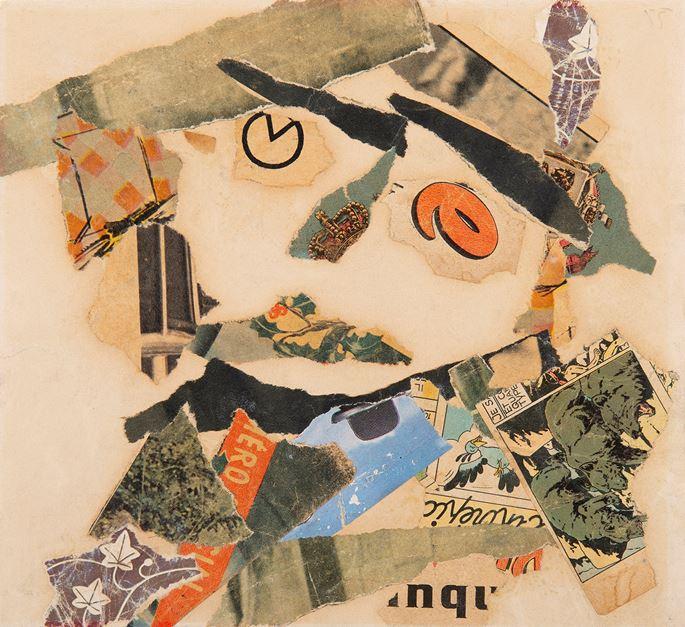 Gaston Chaissac - Composition à une tête | MasterArt