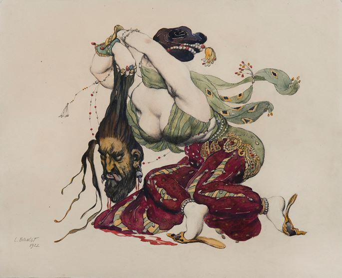 Léon Bakst - Judith et Holopherme | MasterArt