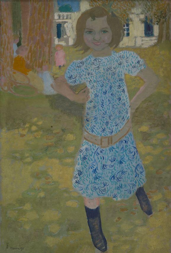 Maurice Denis - Portrait de Mlle Fontaine à Mercin | MasterArt