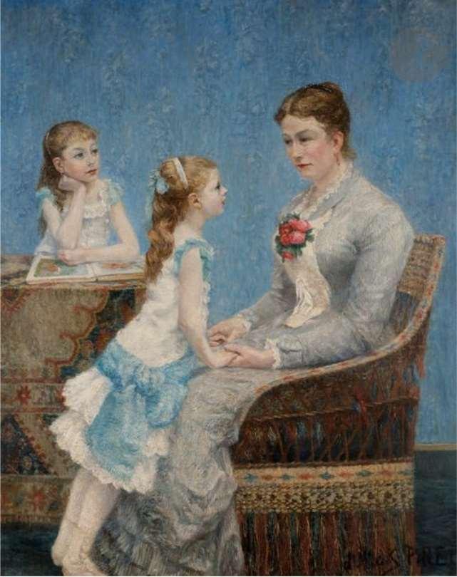 Madame Paul Bouchet et ses filles