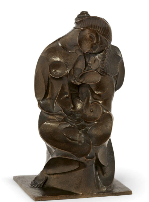 Pablo GARGALLO - Maternité en creux | MasterArt