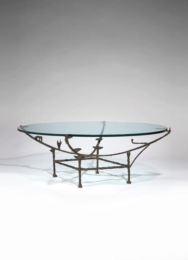 Diego GIACOMETTI - Table Carcasse, modèle à la chauve-souris | MasterArt