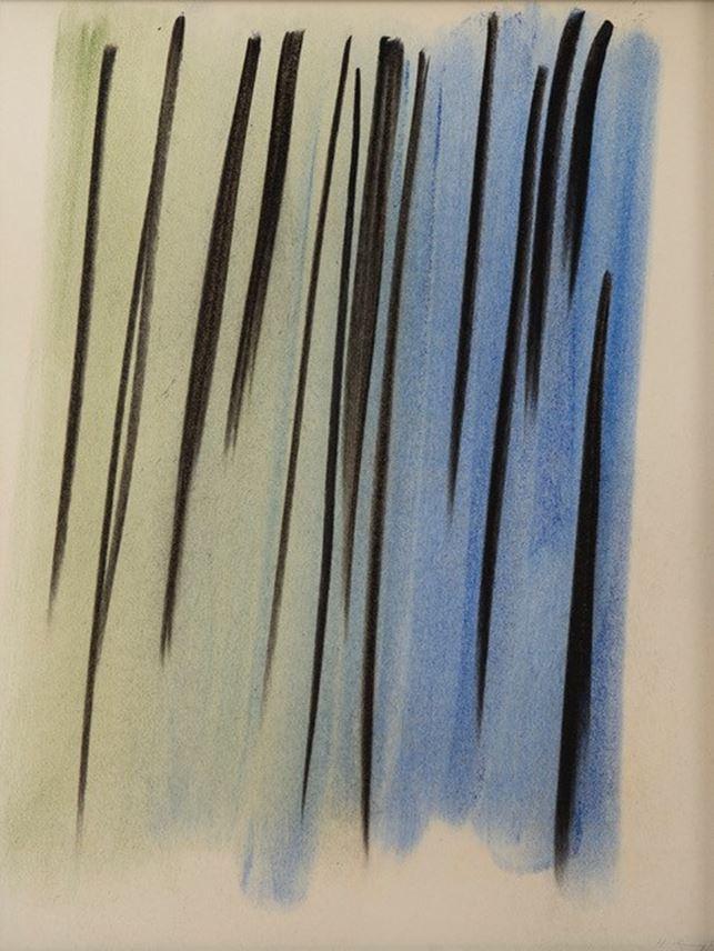 Hans HARTUNG - Composition abstraite | MasterArt