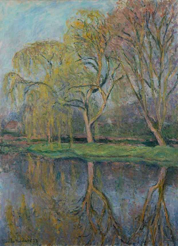 Blanche Hoschedé-Monet - Le Printemps (Le bassin aux nymphéas à Giverny) | MasterArt