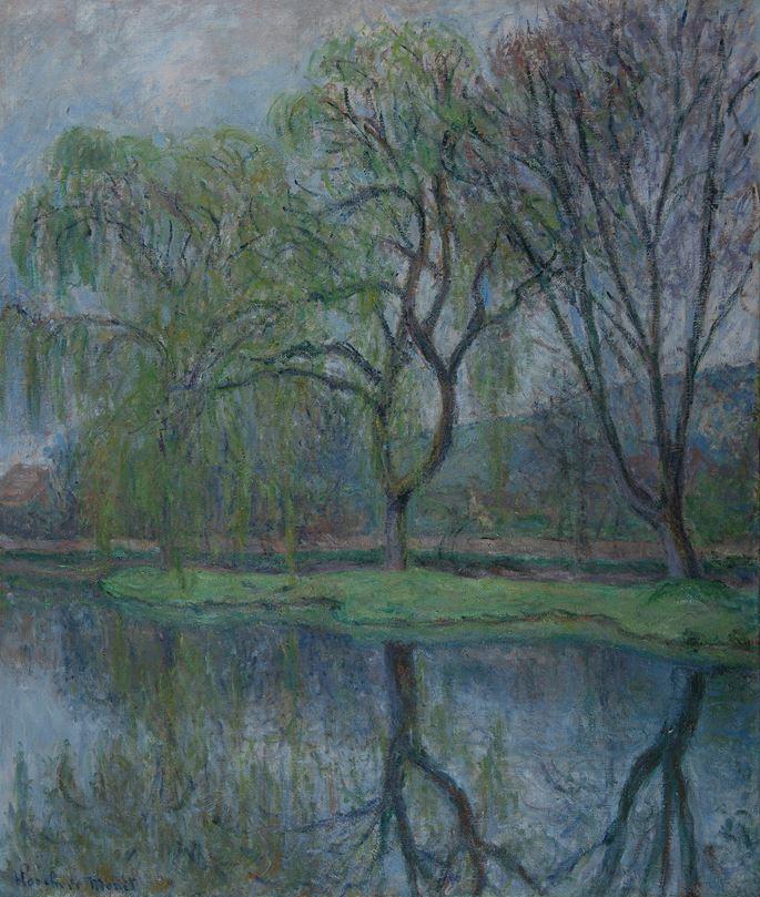 Blanche Hoschedé-Monet - Les grands arbres à l'étang (Giverny) | MasterArt
