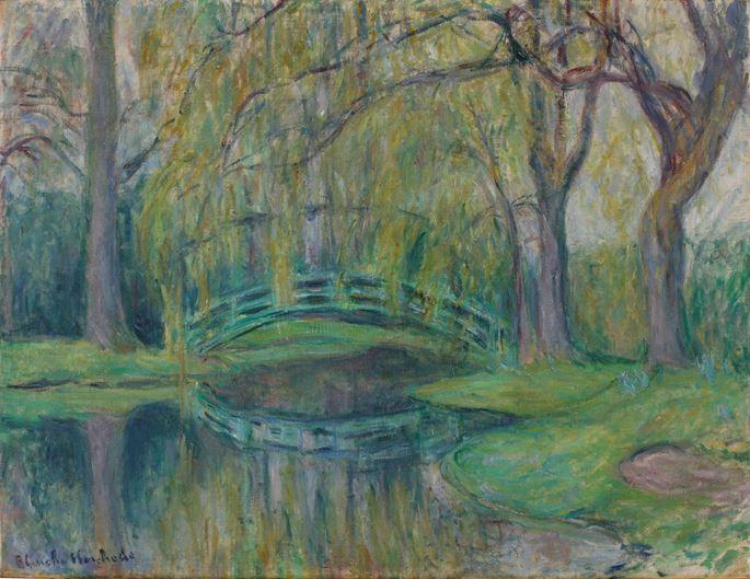 Blanche Hoschedé-Monet - Le pont japonais du bassin des Nymphéas | MasterArt