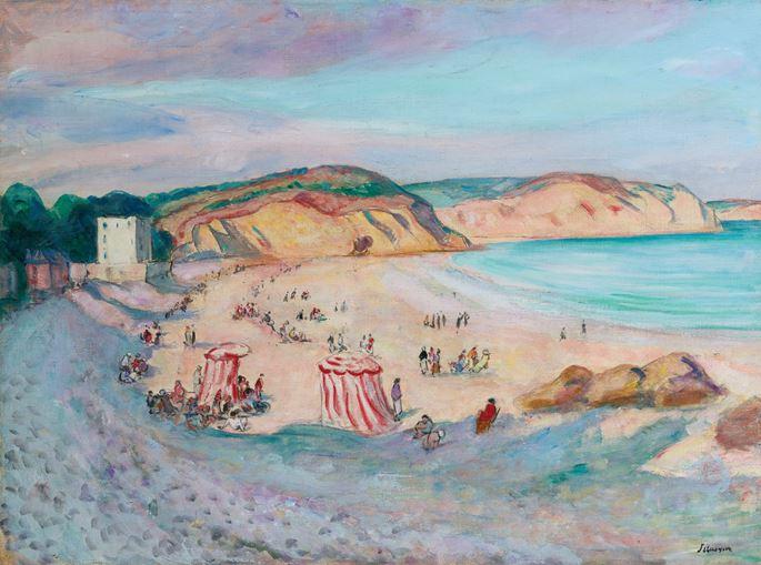 Henri Lebasque - La plage de Morgat | MasterArt