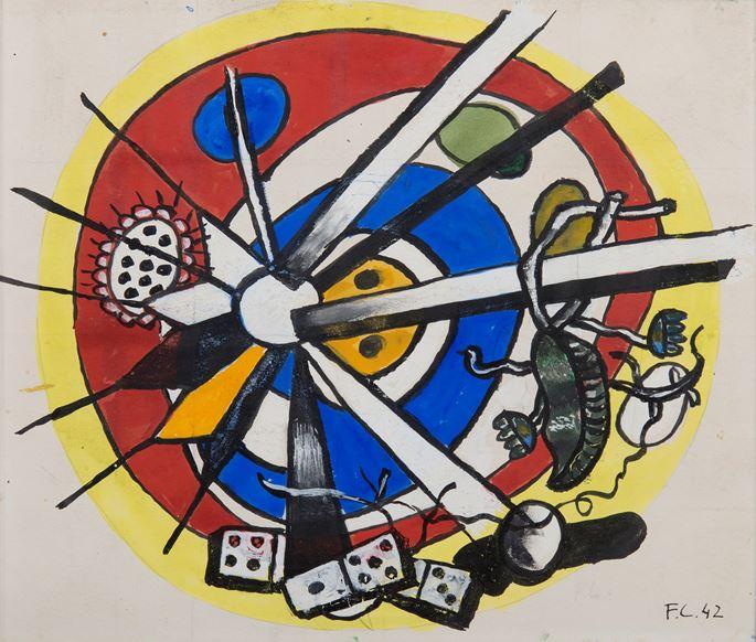 Fernand Léger - Composition circulaire | MasterArt