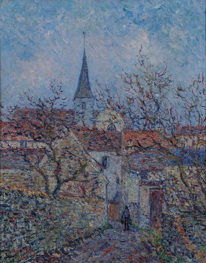 Gustave Loiseau - L'Eglise de Bennecourt | MasterArt