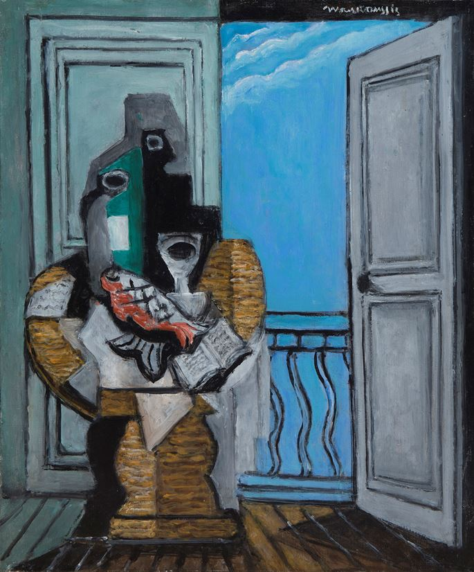 Louis MARCOUSSIS - Nature morte à la fenêtre | MasterArt