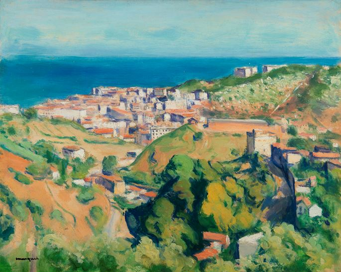 Albert Marquet - Vue d'Alger | MasterArt