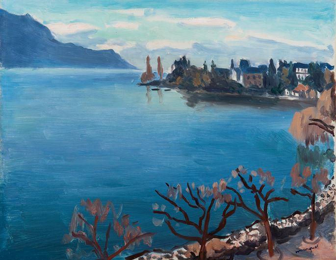 Albert Marquet - Brumes sur le Lac Léman | MasterArt