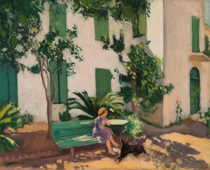 Albert Marquet - Le repos devant la maison | MasterArt
