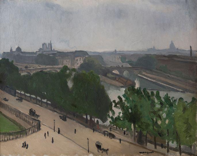 Albert Marquet - Vue de Paris avec Notre-Dame et le Vert-Galant | MasterArt
