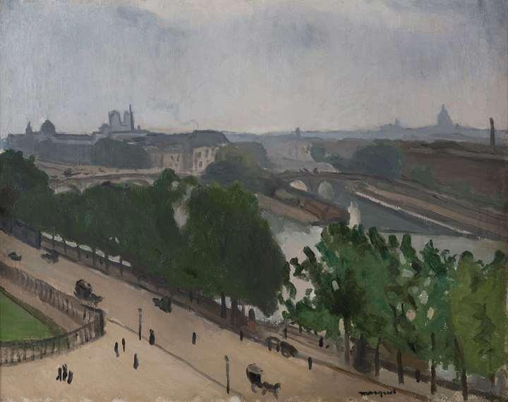 Vue de Paris avec Notre-Dame et le Vert-Galant