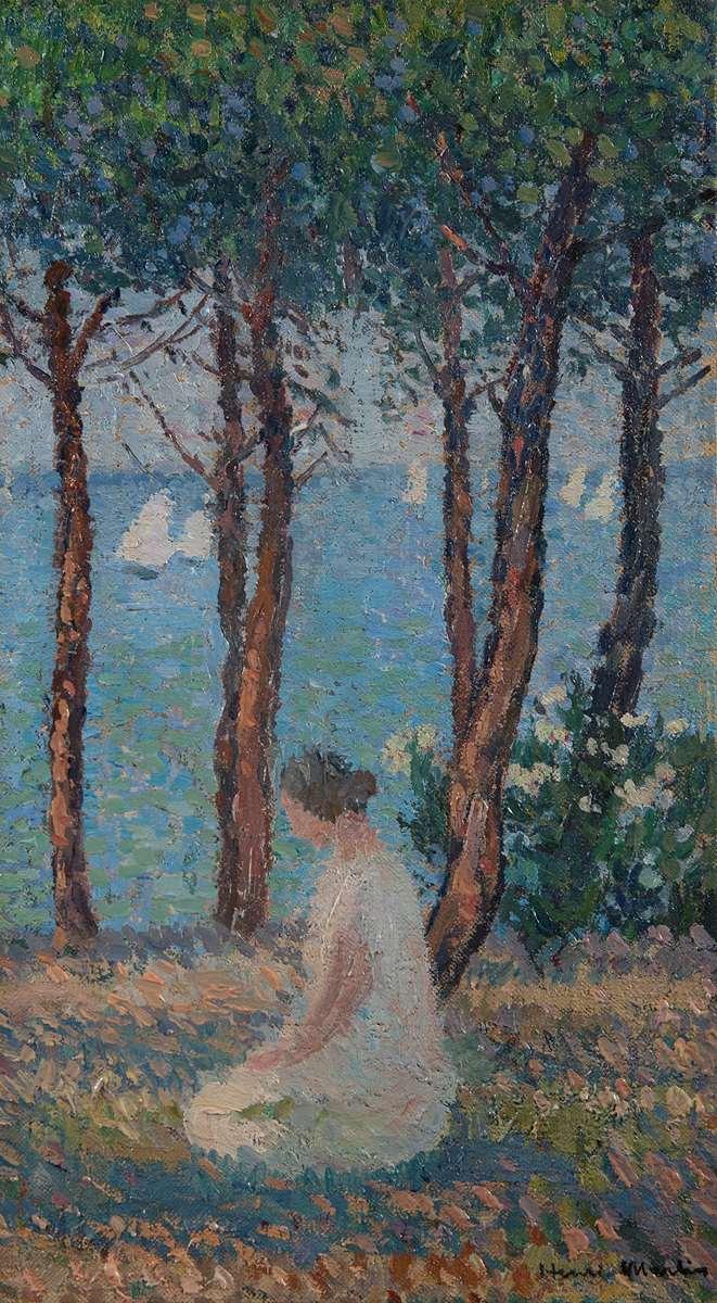 Femme dans le parc