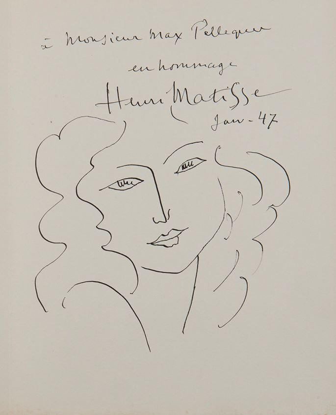 Henri Matisse - Tête de femme | MasterArt
