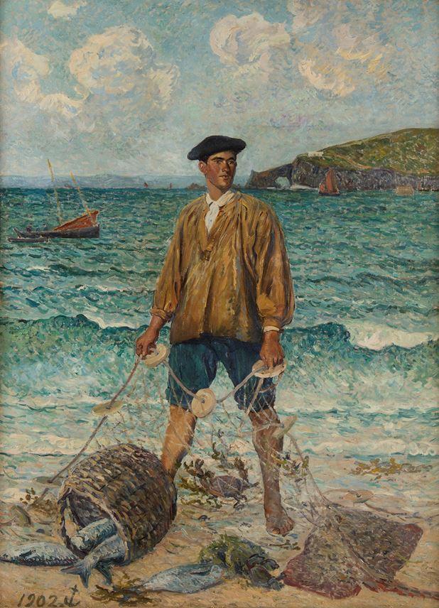 Maxime MAUFRA - Le pêcheur | MasterArt