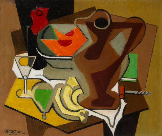 Jean Metzinger - Pichet, fruits et tire-bouchon | MasterArt