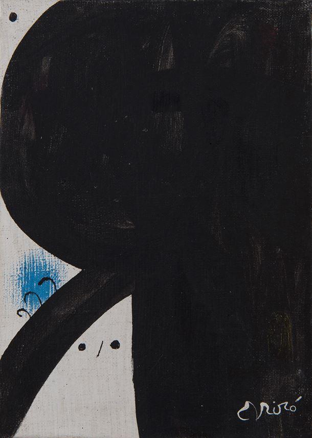 Joan Miro - Femme aux trois cheveux, constellation | MasterArt