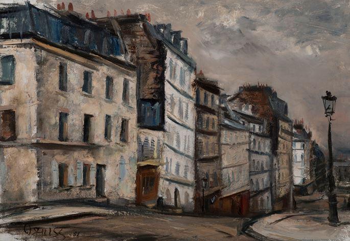 Takanori Oguiss - Vue de Paris (Montmartre) | MasterArt