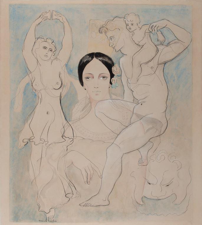 Francis Picabia  - Pilar | MasterArt