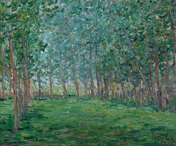 Francis Picabia  - Champ près d'un bois | MasterArt