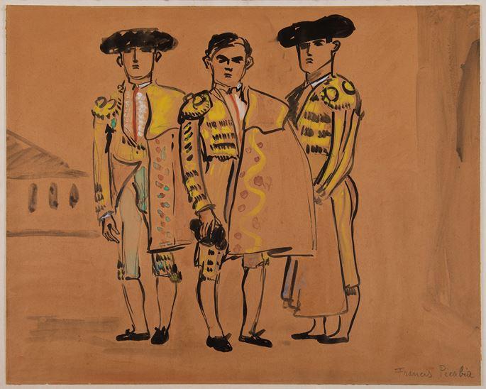 Francis Picabia  - Les toréadors | MasterArt