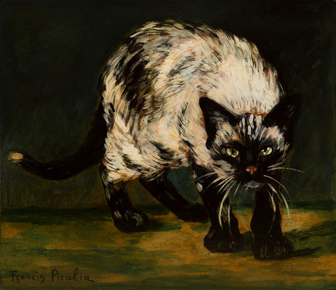 Francis Picabia  - Le Chat | MasterArt