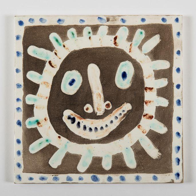 Pablo Picasso - Visage solaire | MasterArt