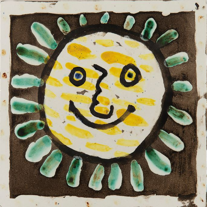 Pablo Picasso - Visage solaire   MasterArt