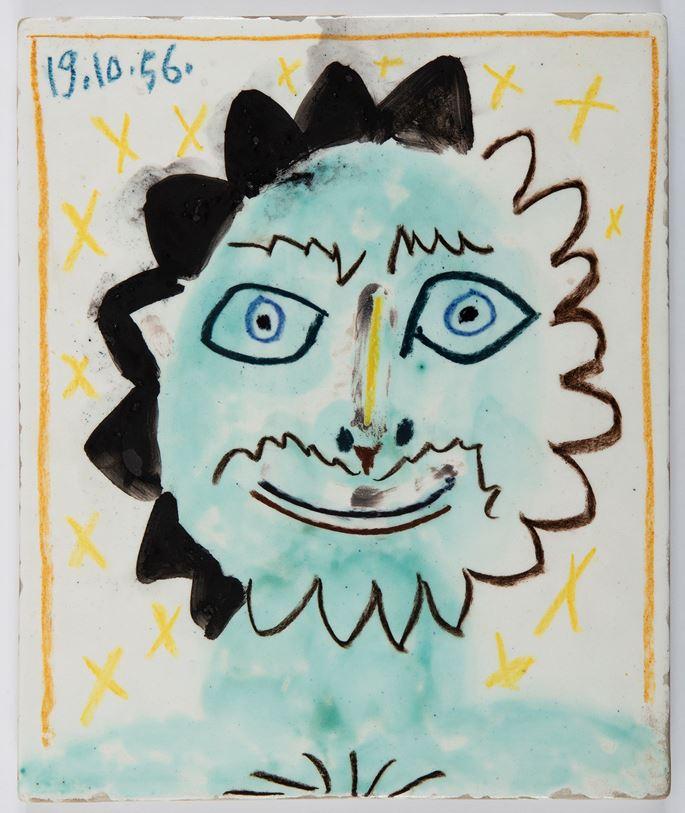 Pablo Picasso - Tête du soleil | MasterArt