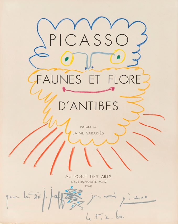 Pablo Picasso - Tête de barbu | MasterArt