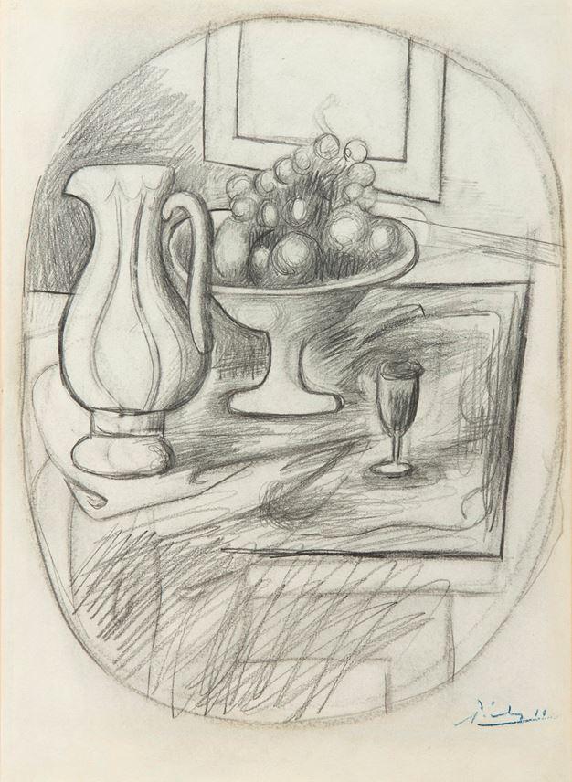 Pablo Picasso - Pot et compotiers | MasterArt
