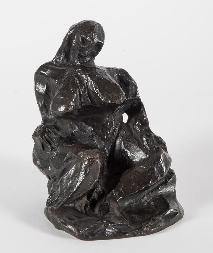 Pablo Picasso - Nu assis | MasterArt