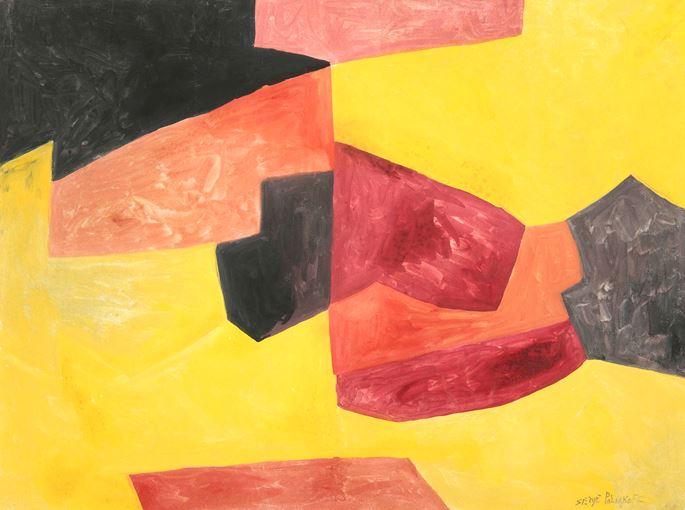 Serge Poliakoff - Composition abstraite | MasterArt