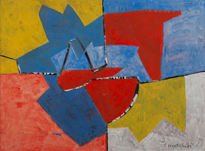 Serge Poliakoff - Composition 52-46 | MasterArt