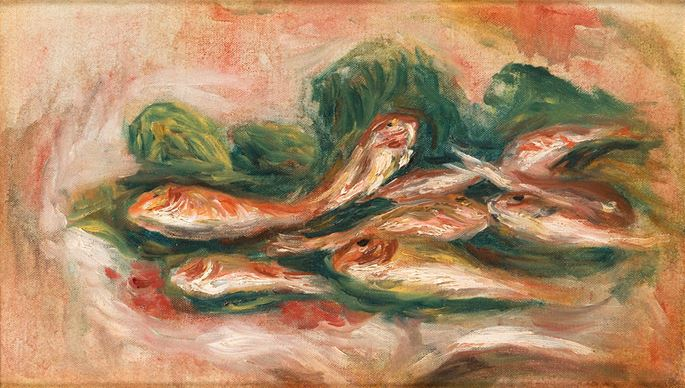 Pierre-Auguste Renoir - Les rougets | MasterArt