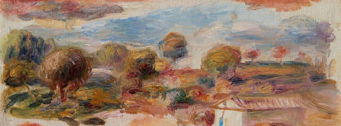 Pierre-Auguste Renoir - Paysage du midi | MasterArt