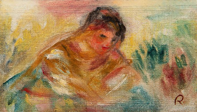 Pierre-Auguste Renoir - Buste de femme | MasterArt
